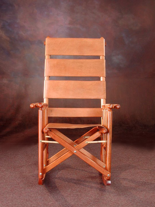 High Back Costa Rica Rocking Chair - No Design