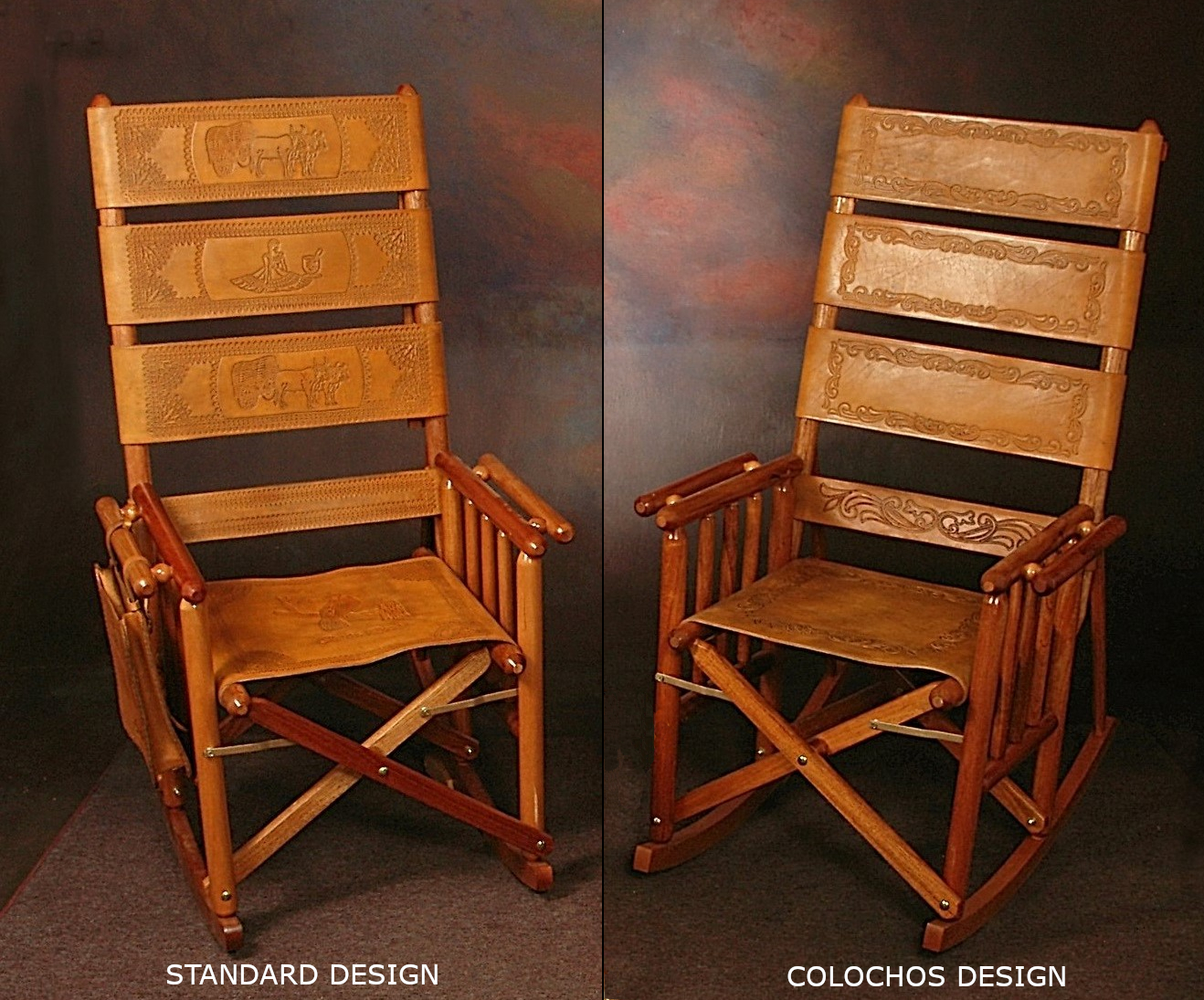 High Back Costa Rica Rocking Chair - Colochos Design