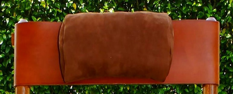 Leather Head Cushion for Costa Rica Rocking Chair
