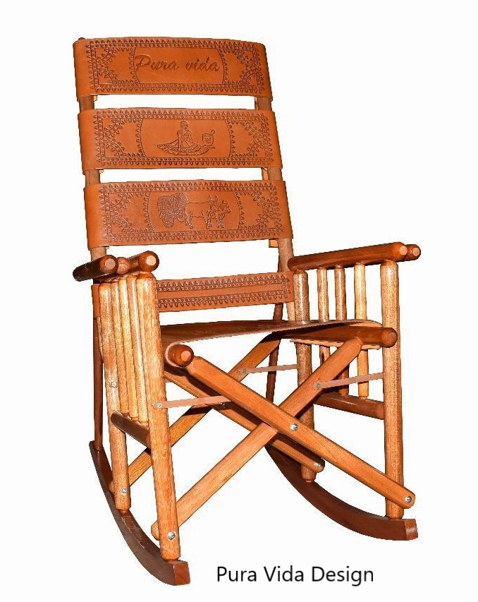 High Back Costa Rica Rocking Chair - Pura Vida Design