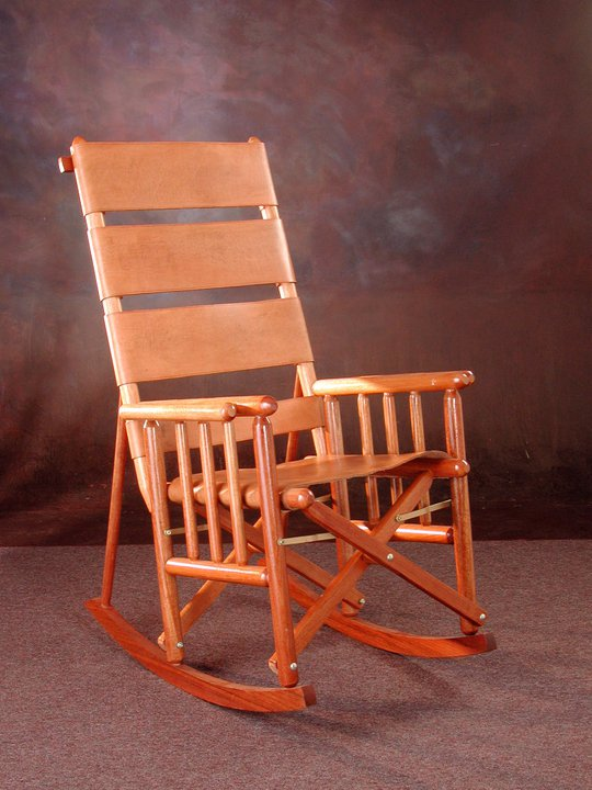 Costa Rica High Back Rocking Chair