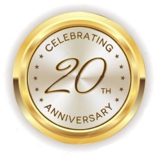 Celebrating our 20th Anniversary