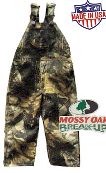 Round House American Made Kids overalls - Mossy Oak