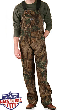 Round House American Made Camouflage overall - Mossy Oak