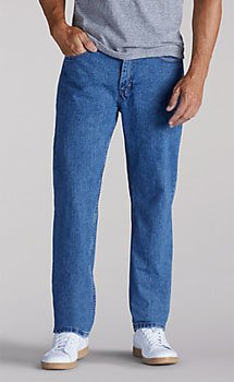 Lee Mens Relaxed Fit Straight Leg jeans - 6 colors