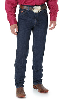 Wrangler Mens Twenty X® Slim Fit Tapered Leg jeans