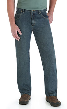 Wrangler Rugged Wear Relaxed Fit Straight Leg jeans