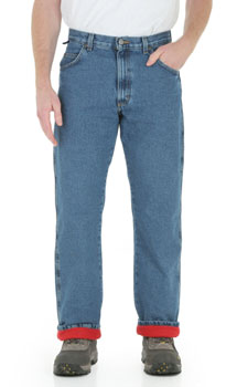 Wrangler Rugged Wear Thermal Jeans - 2 colors