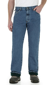 Wrangler Rugged Wear Fleece Lined Relaxed Fit jeans