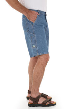 Wrangler Rugged Flat Front Angler shorts - discontinued