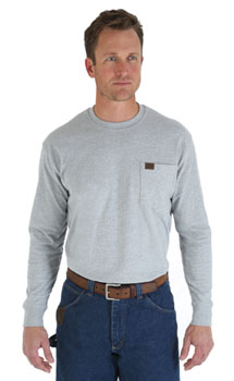 Riggs Long Sleeve Pocket T-shirt - discontinued
