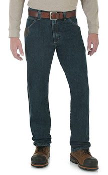 Wrangler Riggs Advanced Comfort™ Five Pocket jeans - 2 colors