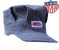 Round House American Made Kids Railroad caps - 2 colors