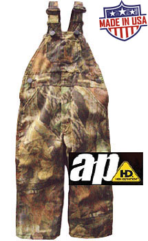 Roundhouse American Made Youth 8-16 Bib overalls - Realtree AP