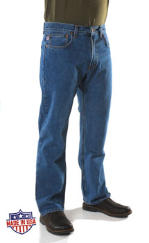 Denim Express Made in the USA 705 Regular Fit Straight Leg jeans
