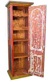 vintage cabinet painted wood wine cabinet mexican southwest decor 27968