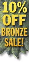 Bronze Decorative Accents Sale!