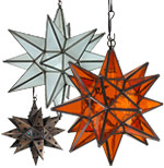 Mexican hanging lights and ceiling fixtures handcrafted rustic metal mexican hanging star lights and ceiling fixtures aloadofball Choice Image