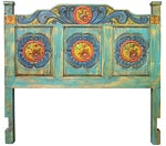painted wood rustic furniture image mexican