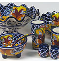 Mexican Talavera dinnerware & Mexican Restaurant Furniture - Cantina Furnishings u0026 Decor