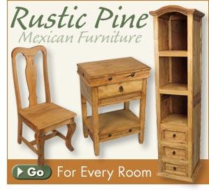 Mexican Furniture   Rustic Furniture   Southwest Style Furnishings And Decor