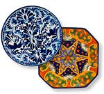 Mexican Talavera Plates and Platters