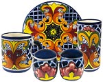 Mexican Talavera Tableware
