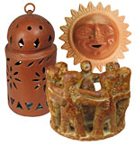 Terra Cotta Home Accents & Pre-Columbian Clay