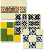 Mexican Tile Tables