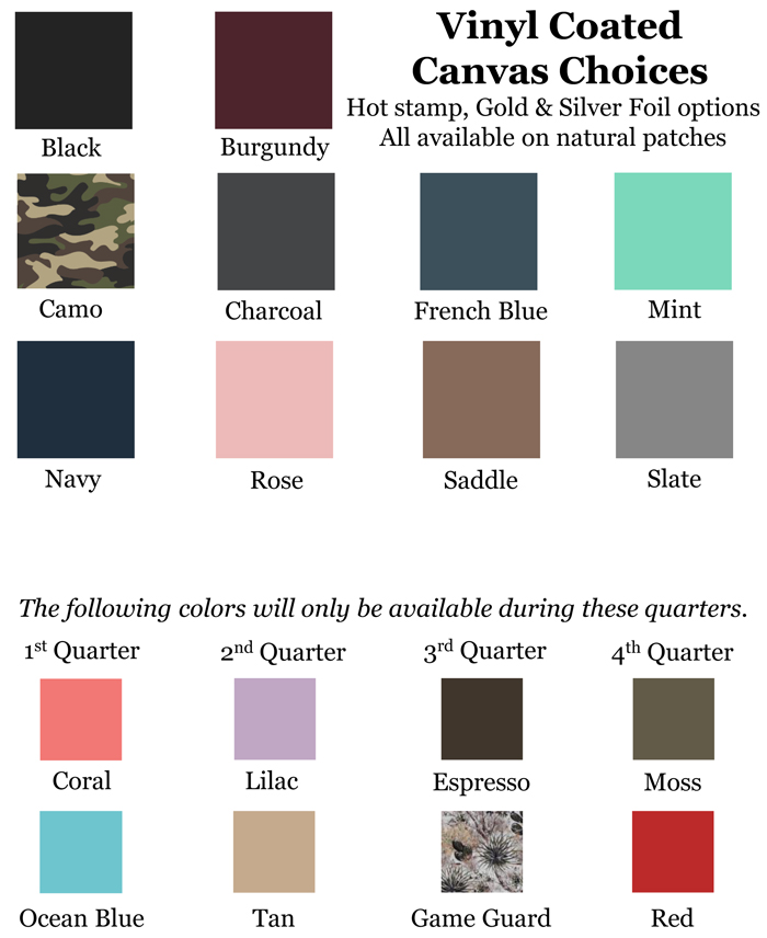 Jon Hart Color Chart