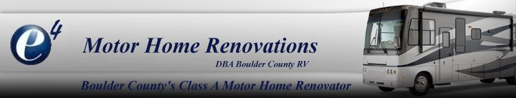 MotorHome Renovations, RV Consulting