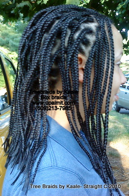 Box braid for Caucasian, Right7.