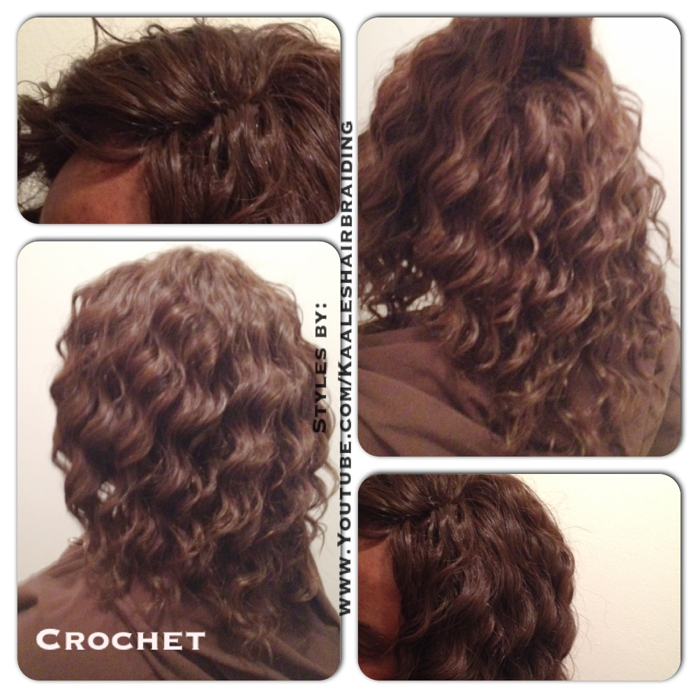 Crochet Braids Nj : Tree Braids by Kaale- crochet braids using loose hair 2.