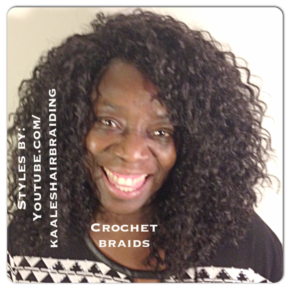 Tree Braids by Kaale- crochet braids using loose hair 3.