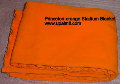 Fleece Stadium Blanket-Orange