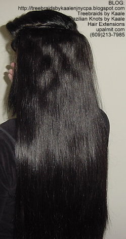 Weft or Track hair extensions, Bk4.
