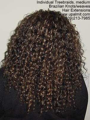 Wavy and curly Individual Treebraids, Bk113.