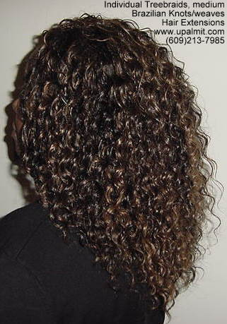 Wavy and curly Individual Treebraids, L113.