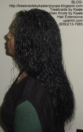 Wet and wavy Individual Treebraids, Right118.