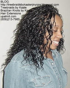Individual Tree Braids- Right.