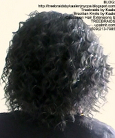 Tree Braids- Individuals with wavy hair, Back2412.