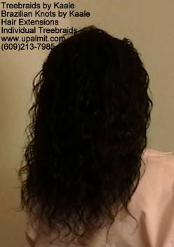 Wavy and curly Individual Treebraids, Bk114.5.