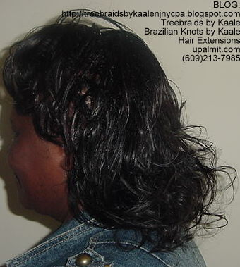 Individual Tree Braids with Mediumsmall Cornrows in front Left51.