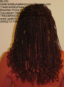 Senegalese Twists, simple style Back1NJ.