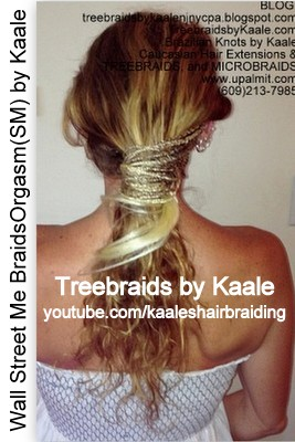 Microbraids and Treebraids by Kaale, Wall Street Me BraidsOrgasm(SM) 106.
