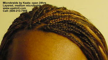 Microbraids, medium sized microbraids in NJ Top6.