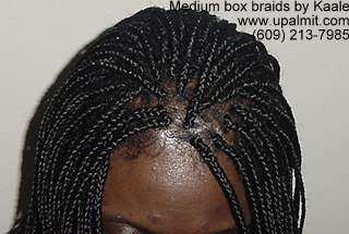 Box braids by Kaale, in NJ.