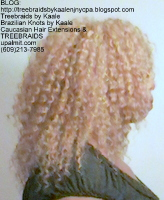 Tree Braids- Cornrows, follow my client back to healthy hair with fluffy kinky curly Right2446.