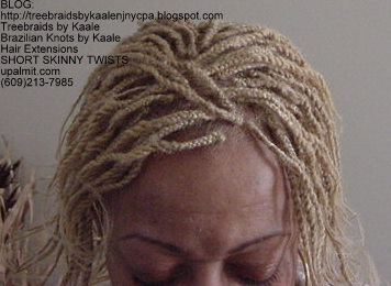 Short kinky twists with Kinky Bulk Top204.