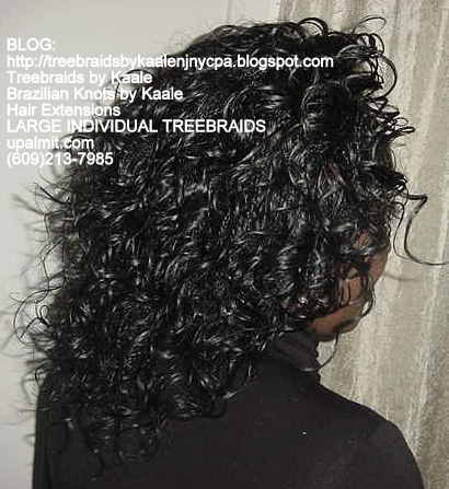 Wavy Individual Treebraids, Large Right127.
